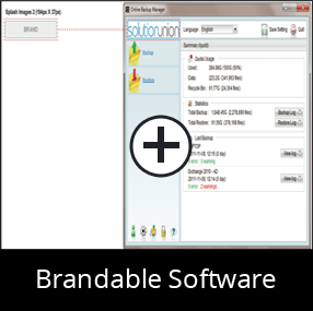 Brandable Software for our Online Backup Reseller Partners