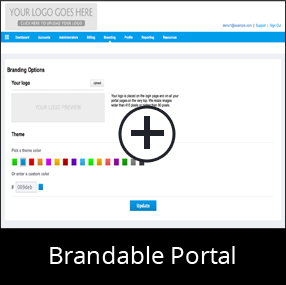 White Label Online Backup with Brandable Portal