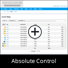 Absolute Control for your Online Backup Business
